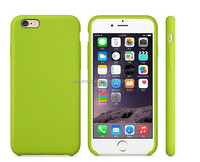 China supplier silicone and PC Official original for iphone 6 rubber case