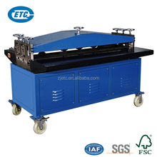 electric beading grooving machine for air duct making,5 lines sheet metal beading machine
