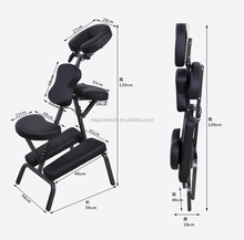 Cheap Portable Massage Chair Tattoo Spa chair with Free Carry Case