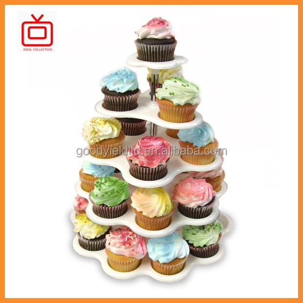 as seen on tv 5 tier plastic cupcake stand
