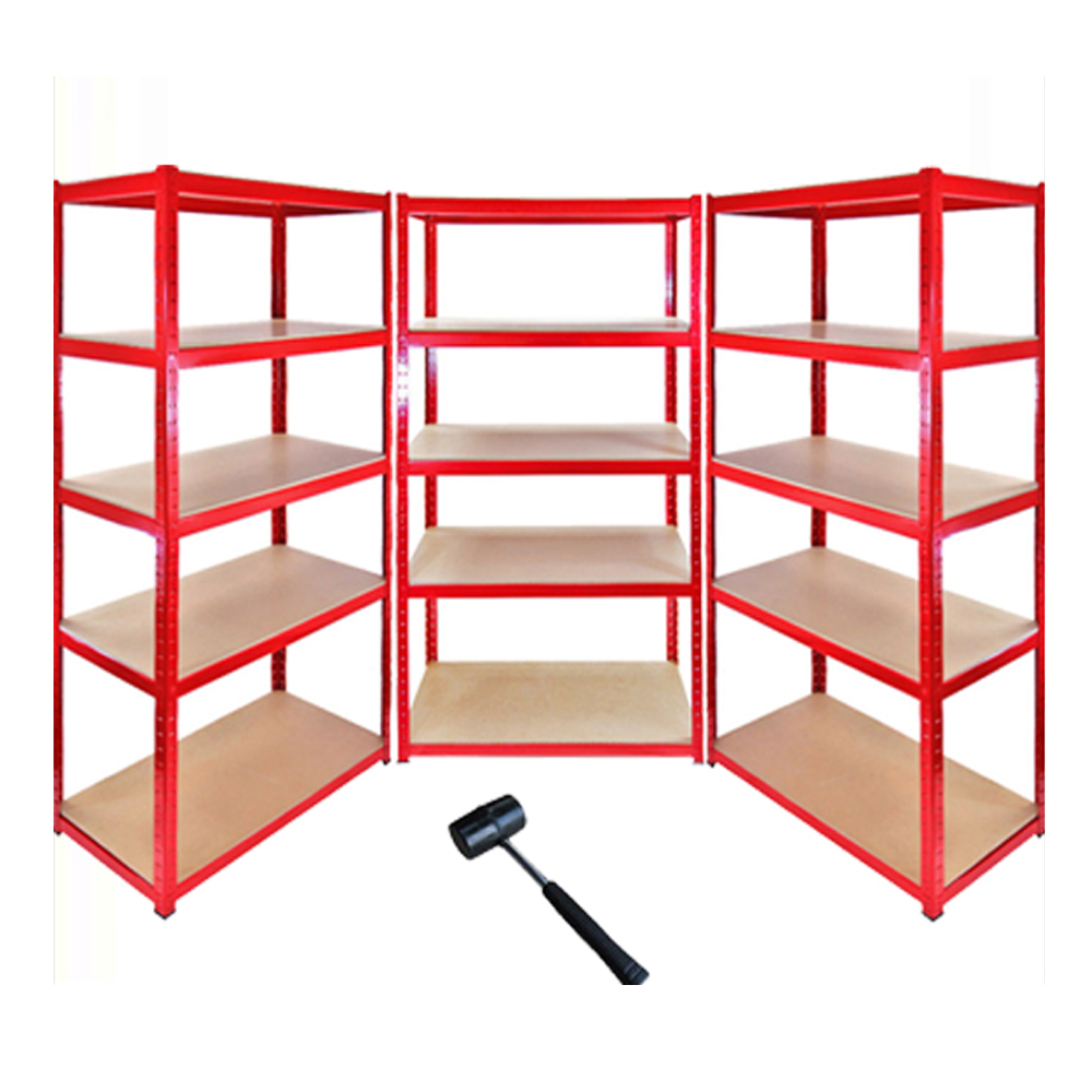 5 tier steel metal heavy duty warehouse storage steel rack <strong>shelf</strong>