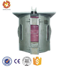Hot sale 0.5t aluminum scrap melting induction industrial electric furnace price