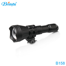 900umens color changeable zoomable tactical flashlight B158 red/green flashlight