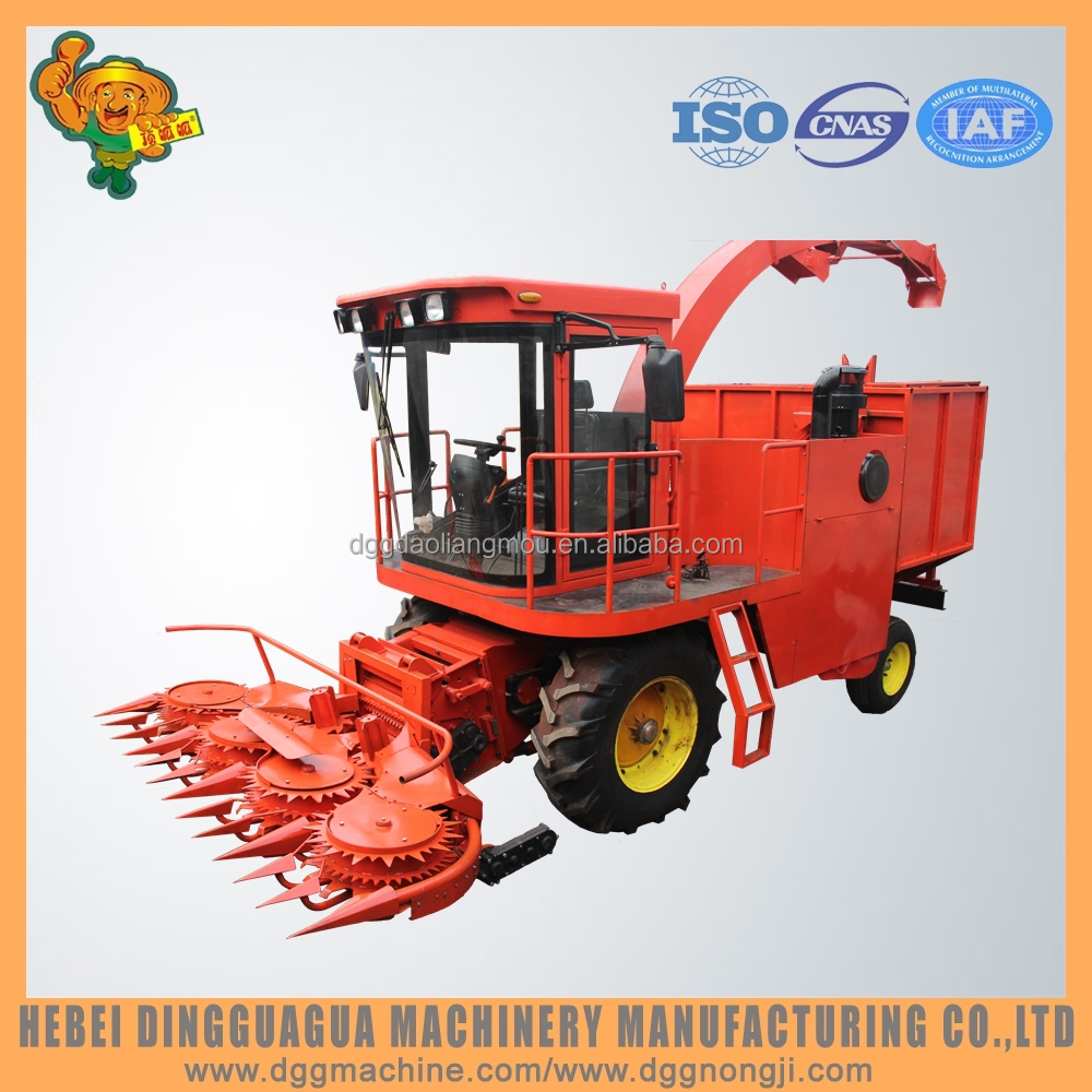 4QZ-3000 Self propelled forage harvester for corn / maize / grass cutting machine for sale