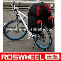 3 in 1 bicycle carrier pannier bike trunk pannier mountain bag
