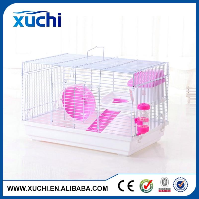Good quality pet furniture wire mesh cages with color red / blue / yellow
