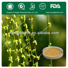 100% Natural White Willow Bark Extract Salicin bodybuilding supplements