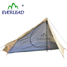 Nylon Canvas 1 Person Ultra Light Pyramid Tent