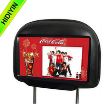 HOT! android 4.4 os car headrest monitor media video player back seat tv for car with lcd monitor