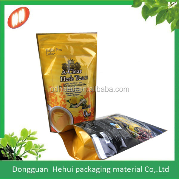 Alibaba China manufacturer custom plastic lamination ziplock bag