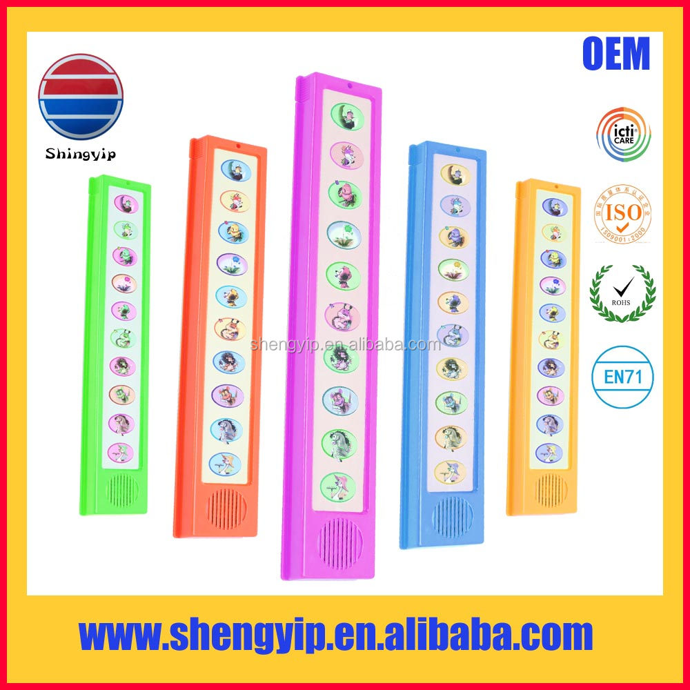 High quality programmable kids sound books with electrical module,children learning machine for toys