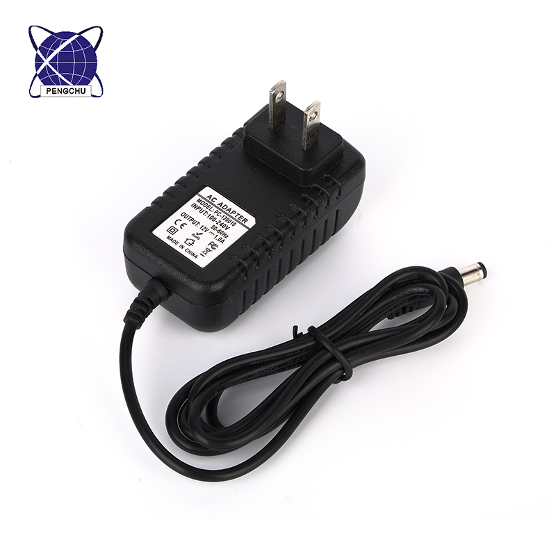 100-240Vac wall mount ac dc adapter 5v 0.5a 500mA dc power supply
