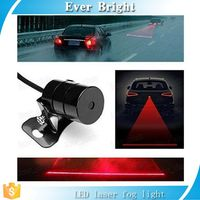 Anti Collision Rear-end Car or Motorcycle Laser Tail Fog Light Waterproof Auto Brake Rearing Warning Light,car laser fog light