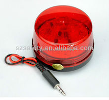 High Alarm Volume Alarm Siren With LED Sensor Light