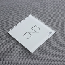 1 Gang 1 Way/2 ways 3way Smart home Touch Switch Black Crystal Glass Panel US EU UK Switch AC110~250V LED