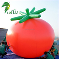Custom Giant Air Fruit Inflatable Helium Vegetables Red Inflatable Tomato
