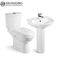 Chinese manufacturers washdown flush best quality bathroom set sanitary ware sets bathroom product made in China