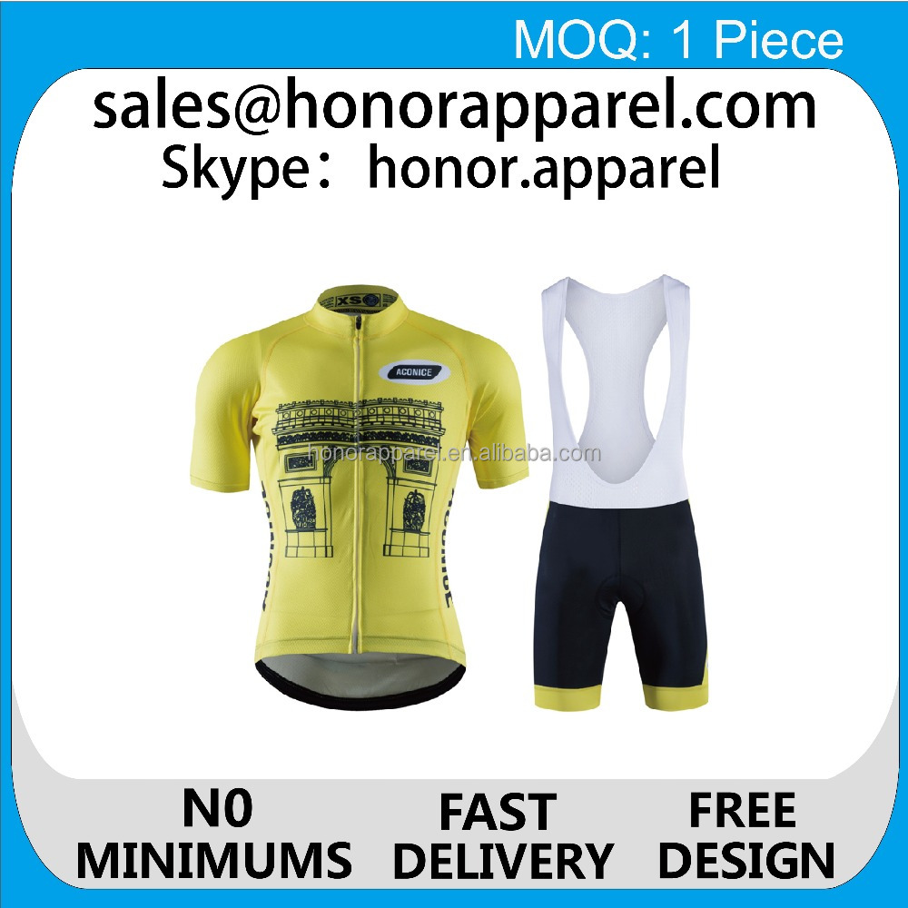 pro teams cycling sets sublimation printing cheap price high quality custom cycling jerseys