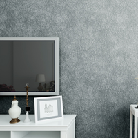 Simple European Style Vinly Self Adhesive Wallpaper Bedroom/Living Room Wall Decorative Film