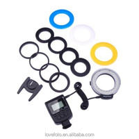 New Arrival RF-550D Macro 48 pieces LED Ring Flash Light for Canon FOR Nikon FOR Pentax FOR Olympus Panasonic DSLR