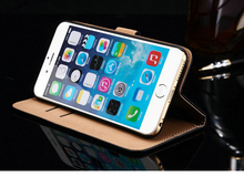 High Quality Brand Product Best Leather Eight Different Colors Stylish Frame Handphone Casing Case Cover for Iphone 6 plus