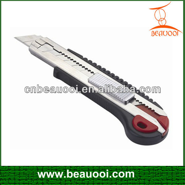 Hot Sale Zinc Alloy Heavy Type Utility Mini Art Knife, Telescopic Knife