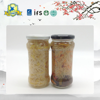 Chinese handmade Canned Vegetables healthy Bean Sprouts in mason jar