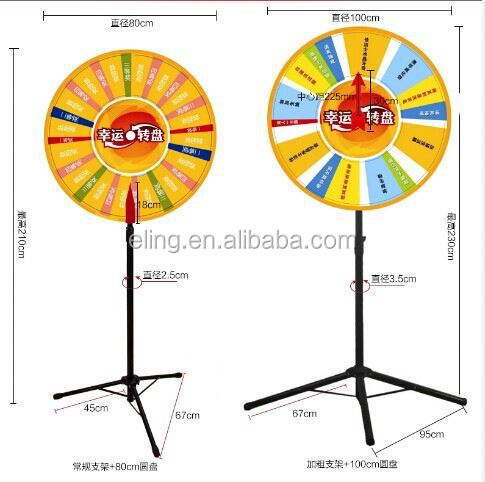Wheel of Fortune\Lucky Turntable( for lottery\promotion activities)powered hang glider