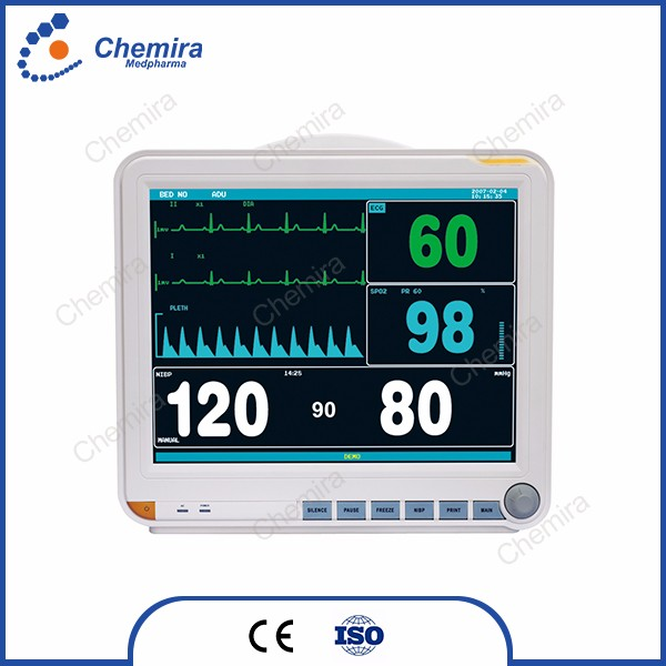 MP-8000D big screen holter monitor multi-parameter vital sign Patient Monitor price