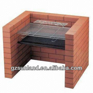 Charcoal Grill DIY Barbecue,brick charcoal grill