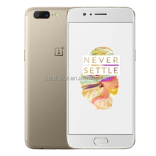 Dropshipping Newest smartphone OnePlus 5, 6GB RAM 64GB ROM 5.5 inch 2.5D H2OS 3.5 OnePlus cellphone 2G 3G 4G