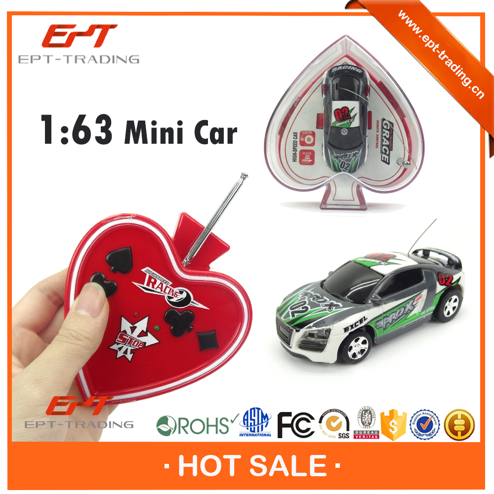 1:63 scale 4ch coke can mini rc car