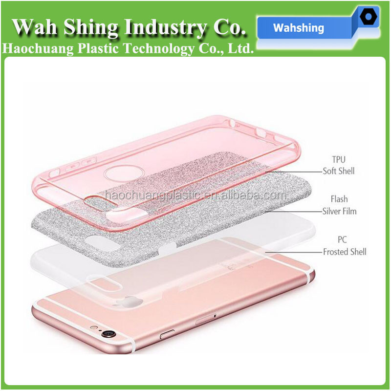 Wholesale Premium Rhinestone Flexible Soft TPU Mobile Phone Case for Samsung