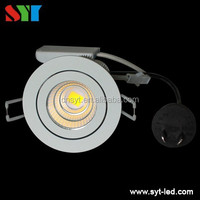 LED Light Source and CE,RoHS Certification aluminium cut out 60mm recessed 3w-30w cob led downlight ce rohs