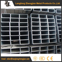 pre galvanised square to round fitting rectangular steel pipe
