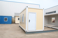Economical Timber Prefab 20ft shipping homes for