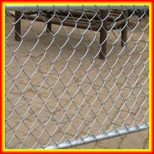 security round galvanized post 9 gauge chain link fence