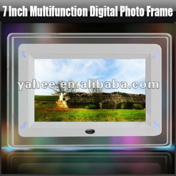 7 Inch Multifunction Digital Photo Frame, YHF-D703