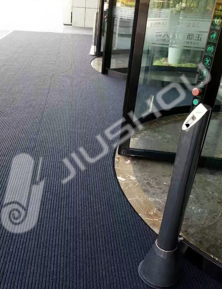 Wholesale nylon roll outdoor red and black padding restaurant carpet