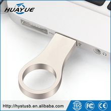 Waterproof Metal USB Flash Drive 64gb pen drive 64GB 32GB 16GB 8GB Flash Drive with key ring free shipping