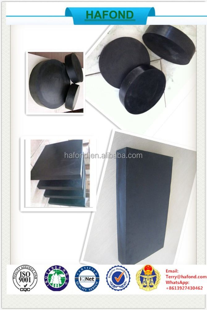 shenzhen manufacture Custom made Rubber Elastomeric bridge bearing pads