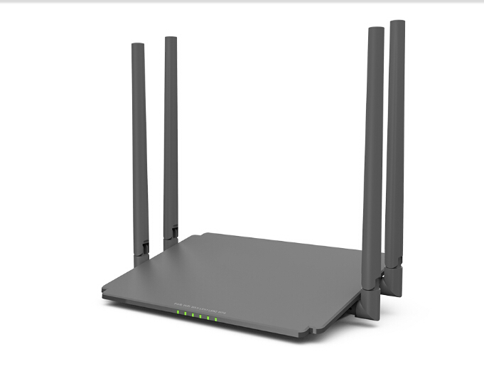 AC1200 Dual-Band Smart Wi-Fi Wireless Router for home and office