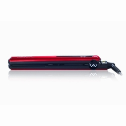 Private label 1 inch titanium plate hair straightener titanium flat iron