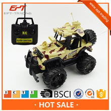 Hot selling remote control monster truck rc jeep for kid