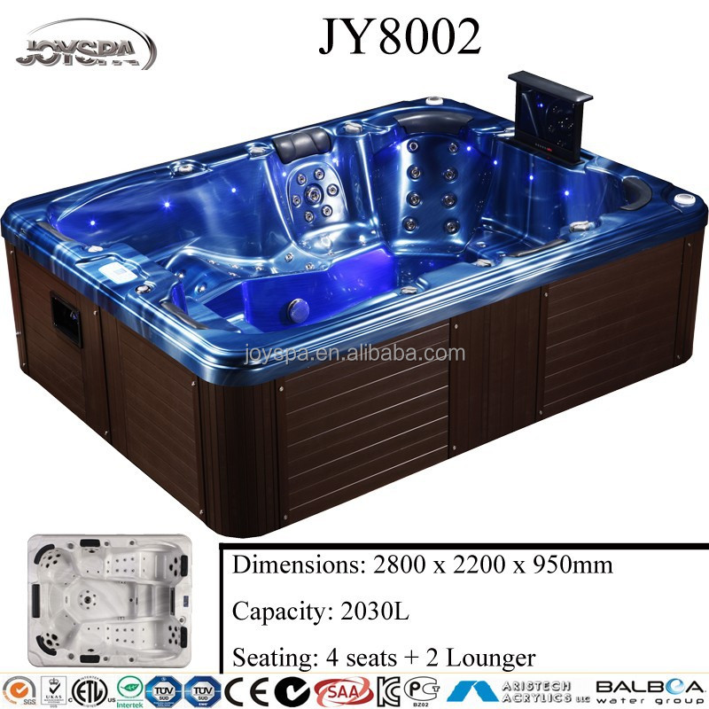 European style mini portable spa,free sex massage 6 person hot tub China supplier,JY8002