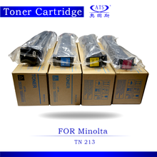 CMYK tn213 toner cartridge for Konica Minolta Bizhub C203 253 copier toner