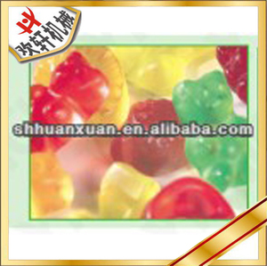 automatic jelly candy depositing line
