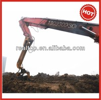 Low Price Vibro Pile driver mounted with excavator (for sheet piles,I-steel piles...)