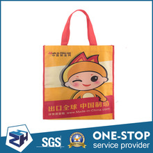 China Manufacturer Recycled Cartoon Printed For Shopping Foldable Non Woven Bag OEM ODM
