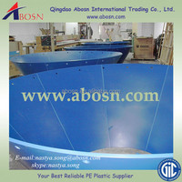 Size customized chute bunker truck bed liner hopper lining in uhmwpe sheet hdpe liner \OEM